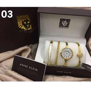 Anne Klein Watch Set