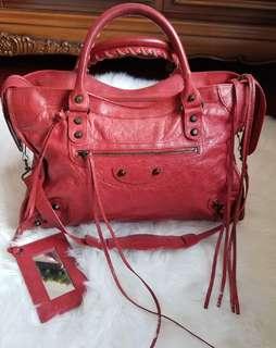 Balenciaga classic city 紅色