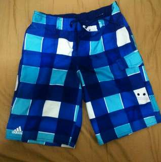 Adidas authentic graphic water shorts
