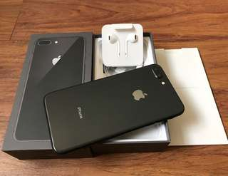 Iphone 8 Plus 256gb Space Gray Like New Openline Complete