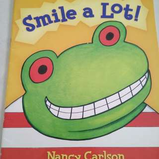 Scholastic smile a lot book