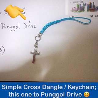 Simple Cross Dangle / Keychain [bag dangles crucifix Good Friday Easter salvation baptism first communion token gifts handmade uncle.anthony uncle anthony uac] FOR MORE PICTURES & DETAILS, GO HERE: 👉  http://carousell.com/p/105677888