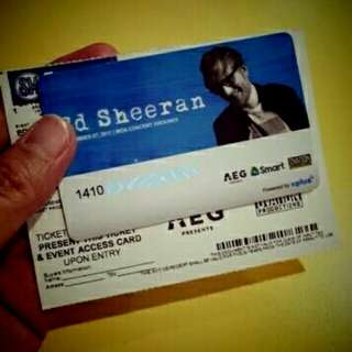Ed Sheeran Gold Tickets (2 Tickets)