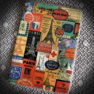 Paris StickerStamps designed Passport Holder