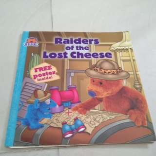 Raiders of the lost cheese storybook