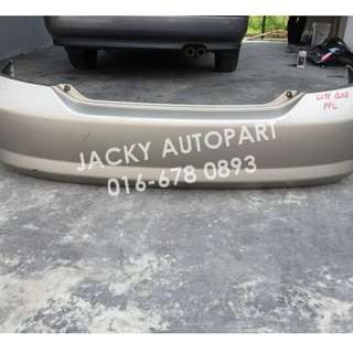 Rear Bumper Belakang Honda City Fit Aria GD8 Japan