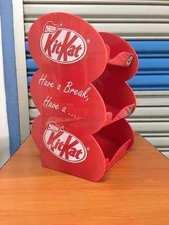 Vintage...Nestle KitKat plastic shelf