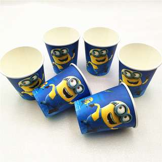 MINIONS Party Cups (Pack of 10)