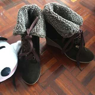 Autumn/Winter Wedge Boots