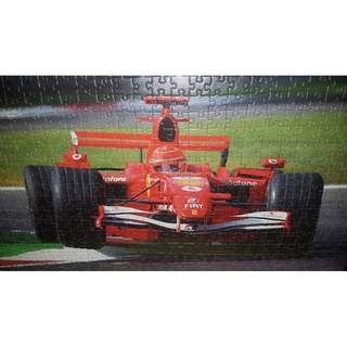 NEW JIGSAW PUZZLE FERRARI CAR - 500 PCS