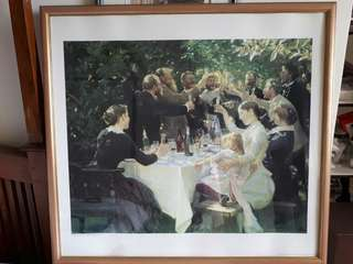 Framed print by PS Kroyer