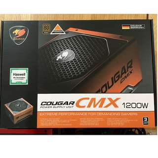 COUGAR CMX1200-V3 1200W Modular 80Plus Bronze Power Supply NEW