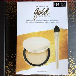 Gold Obsession Chandelight Glow + Brush