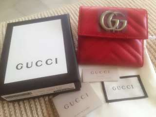 Red GG wallet