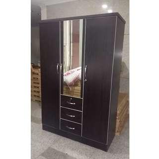 3 door wardrobe with mirror #1254