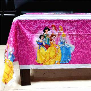 DISNEY PRINCESSES Disposable Table Cover
