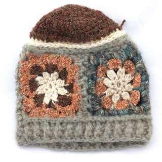 日本下北澤購入編織款毛線帽
