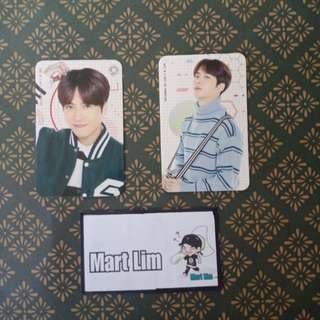 GOT7 Jackson Fanmeeting photocards