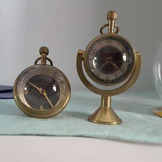 Sphere clock from Movado and Tissot