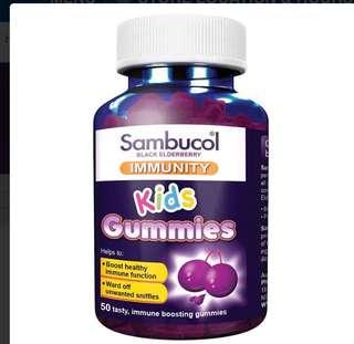 Sambucol kids immunity 50Gunmies