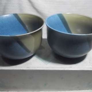 Japanese Bowl Pair