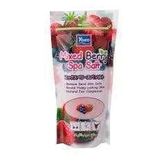 Yoko strawberry spa salt(body scrub)