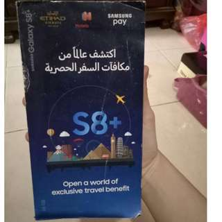 Second hand Smartphone Samsung S8+ 64GB