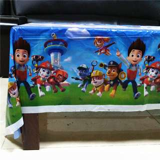 PAW PATROL Disposable Table Cover