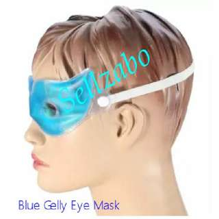 Anti Tiredness Refreshing Relaxing Sleeping Blue Open Eyes Gel Masks With Sellzabo Cold Warmth Care