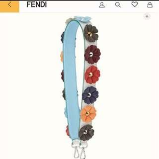 Fendi Flora strap