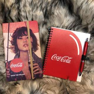 Coca cola Notebooks