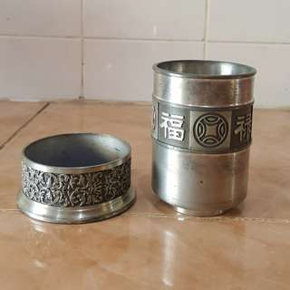 Selangor Pewter canister cup