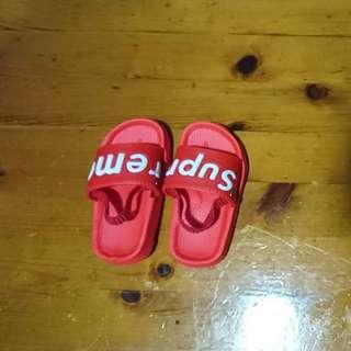 Supreme baby sandal