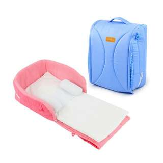 Baby Travel Bed (Pink)