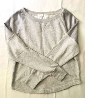 Charity Sale! Authentic Aeropostale Grey Sequenced Sweater Size Medium Women #freedelivery3