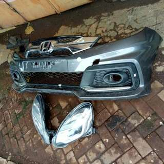 Bamper Mobilio RS & Head Lamp