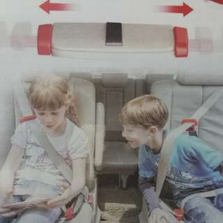 Clear stock ★Compact Travel Foldable Child Kids Safety Car Booster Seat★Uber Grab Taxi
