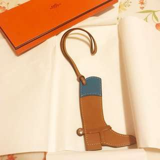 Hermes paddock boot charm