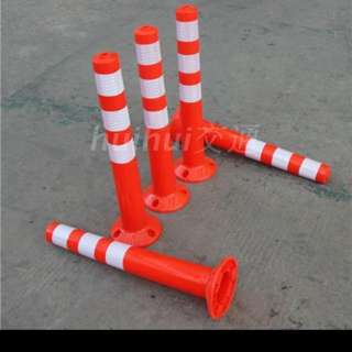 Traffic bollard (flexible)