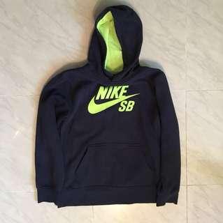 童裝 Nike SB Hoodie (Navy) Size-L 90%新