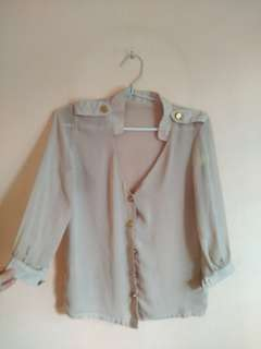 Preloved Nude Top