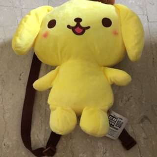 Pompompurin Child's bag & Cushion set *sale*