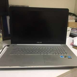 """ASUS Gamer laptop 17"""" inch - almost as new"""