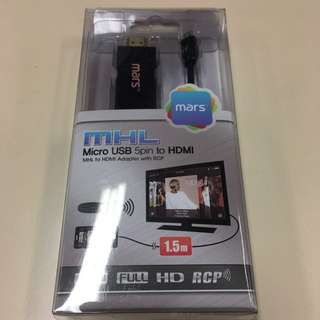 100% Brand New Item Micro USB to HDMI Cable
