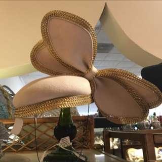 現貨美國二手Vintage 粉紅羊毛造型帽