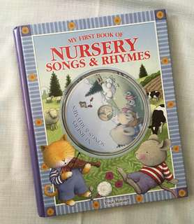 Charity Sale! My First Book of Nursery Songs & Rhymes with CD