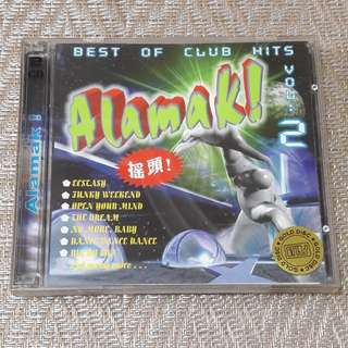 Best of Club Hits vol.2 Alamak! Gold CD