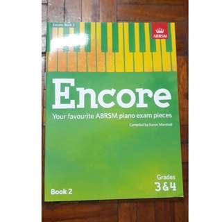 ABRSM ENCORE Piano Music Book