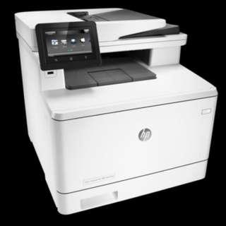 HP Color LaserJet Pro 多功能打印機 M477fnw
