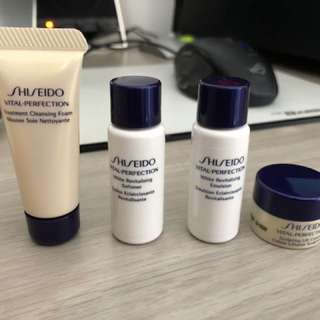 Shiseido vital perfection travel pack
